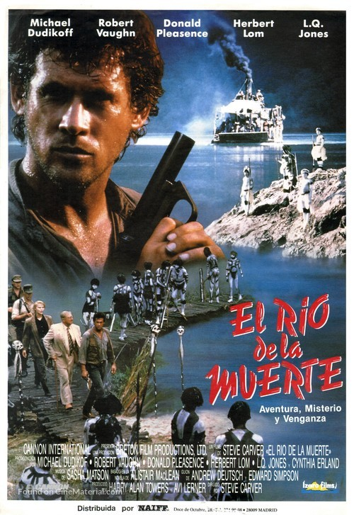River of Death - Spanish Movie Poster
