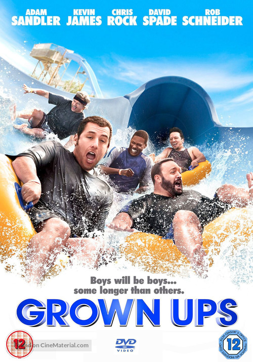 Grown Ups - British Movie Cover