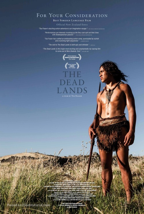 The Dead Lands - New Zealand For your consideration movie poster