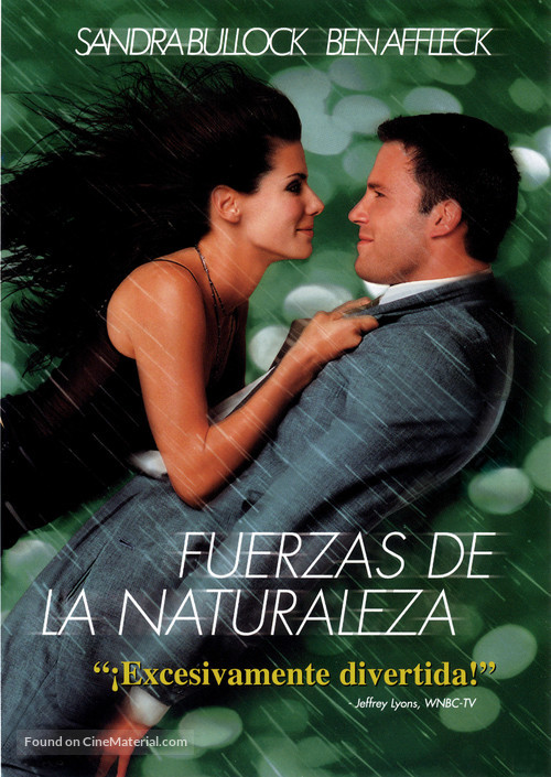 Forces Of Nature - Argentinian DVD movie cover