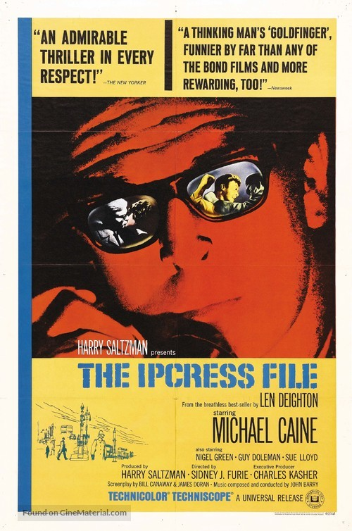 The Ipcress File - Movie Poster