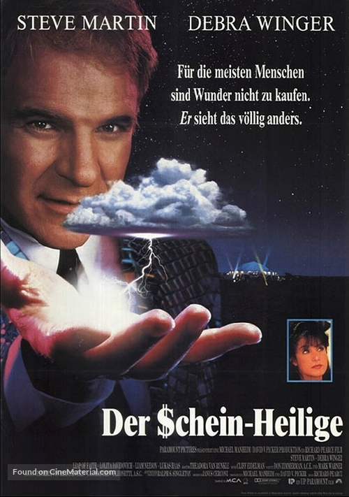 Leap of Faith - German Movie Poster