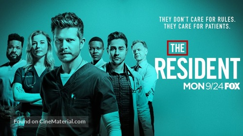 """The Resident"" - Movie Poster"