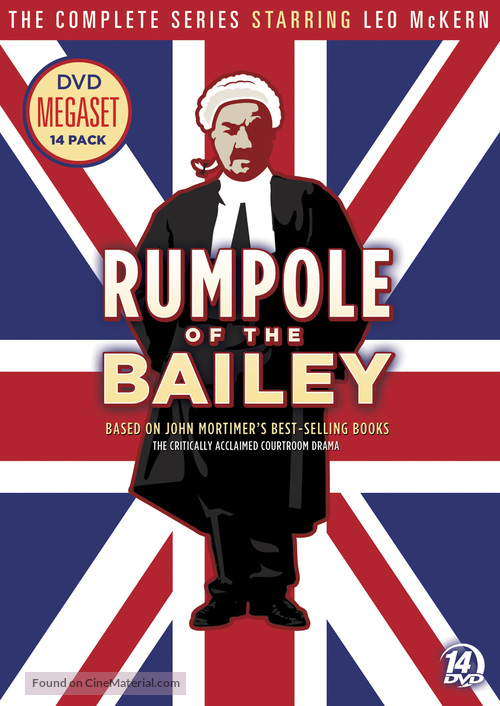 """""""Rumpole of the Bailey"""" - DVD movie cover"""