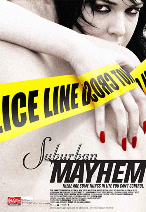 Suburban Mayhem - Australian Movie Poster