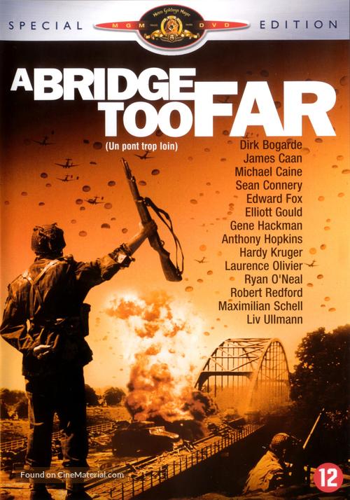 A Bridge Too Far - Dutch DVD movie cover