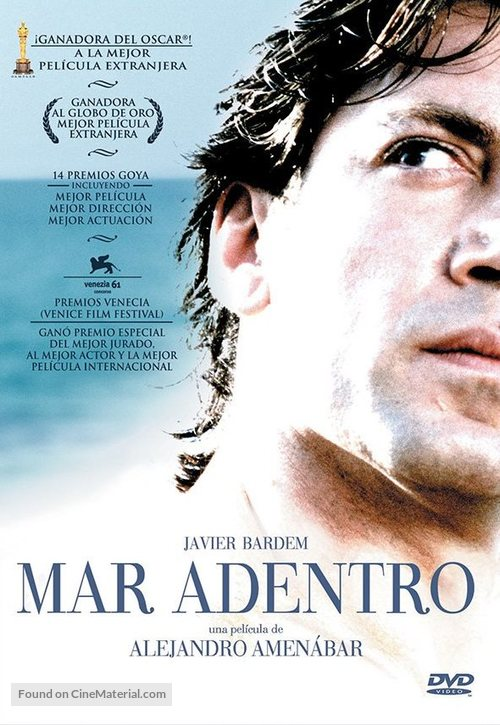 Mar adentro - Spanish DVD movie cover