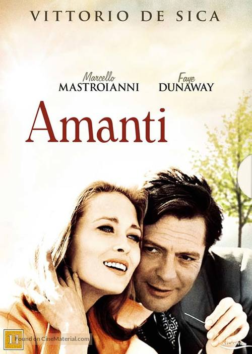 Amanti - Danish DVD movie cover