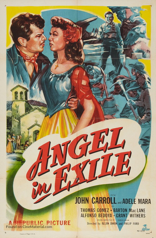 Angel in Exile - Theatrical movie poster