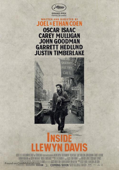 Inside Llewyn Davis - Swiss Movie Poster
