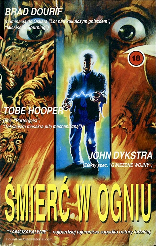 Spontaneous Combustion - Polish Movie Poster