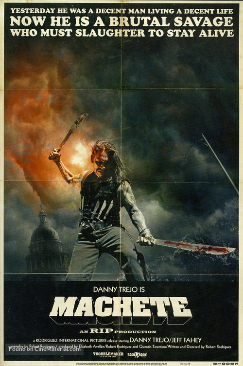 Machete - Movie Poster