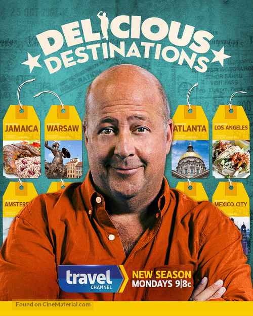 """Bizarre Foods: Delicious Destinations"" - Movie Poster"