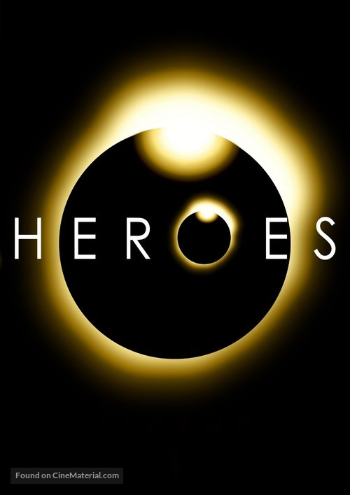 """""""Heroes"""" - DVD cover"""