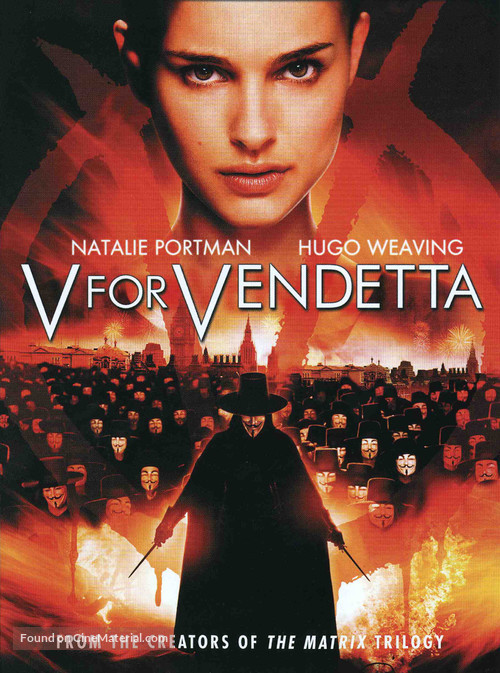 V for Vendetta - DVD movie cover
