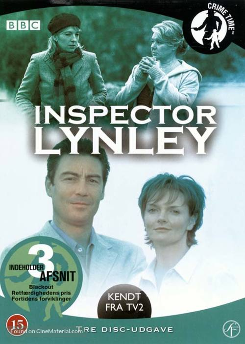 """""""The Inspector Lynley Mysteries"""" - Danish DVD movie cover"""