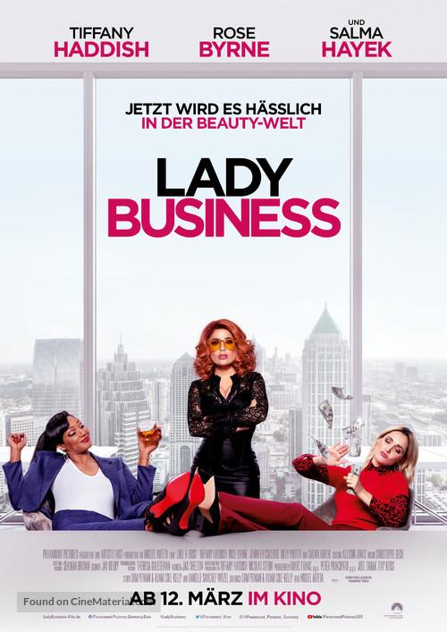Like a Boss - German Movie Poster