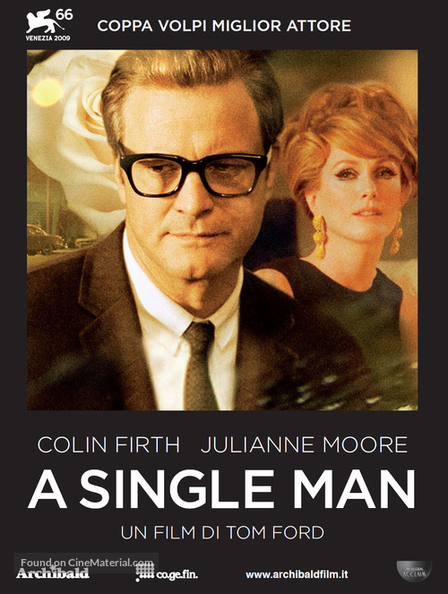 A Single Man - Italian poster