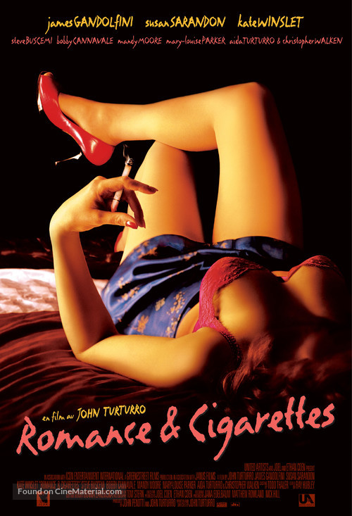 Romance & Cigarettes - International Movie Poster