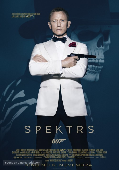 Spectre - Latvian Movie Poster