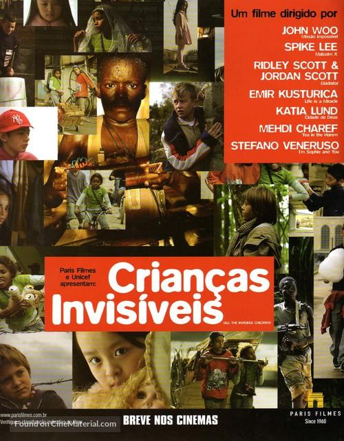 All the Invisible Children - Brazilian Movie Poster