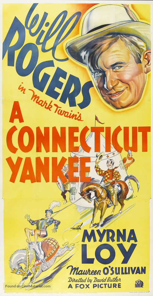 A Connecticut Yankee - Movie Poster
