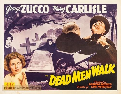 Dead Men Walk - Movie Poster