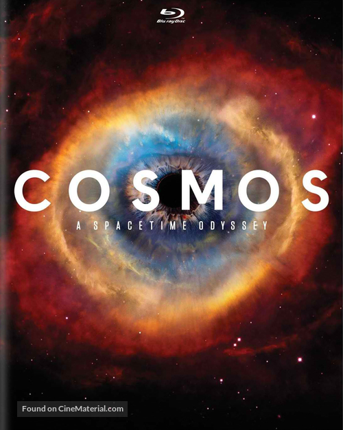 """""""Cosmos: A SpaceTime Odyssey"""" - Blu-Ray movie cover"""