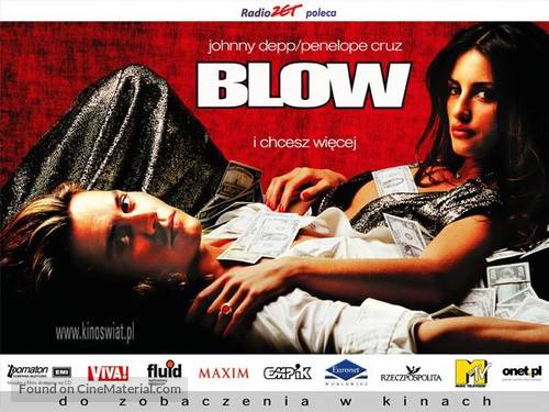 Blow - Polish Movie Poster