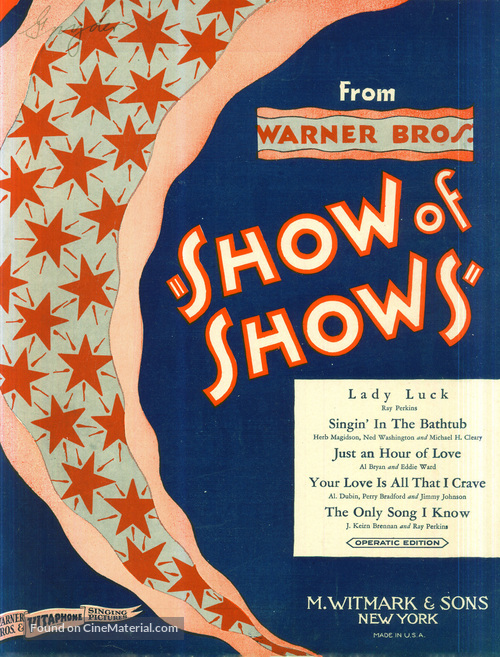 The Show of Shows - poster