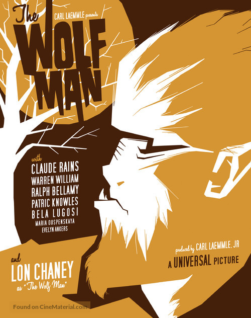The Wolf Man - Homage poster
