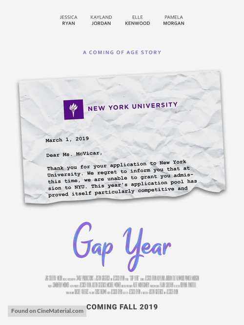 Gap Year - Movie Poster