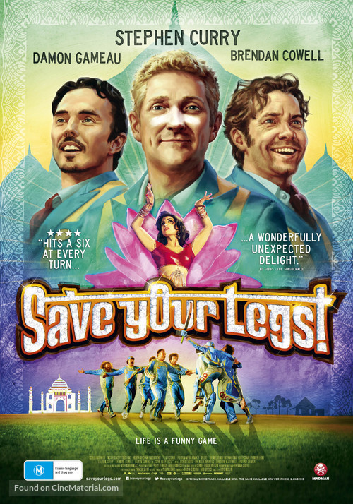 Save Your Legs! - Australian Movie Poster
