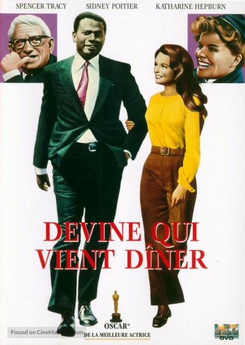 Guess Who's Coming to Dinner - French DVD movie cover