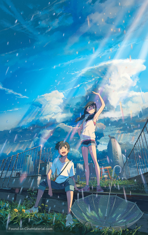 Weathering with You - Key art