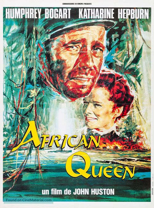 The African Queen - French Movie Poster