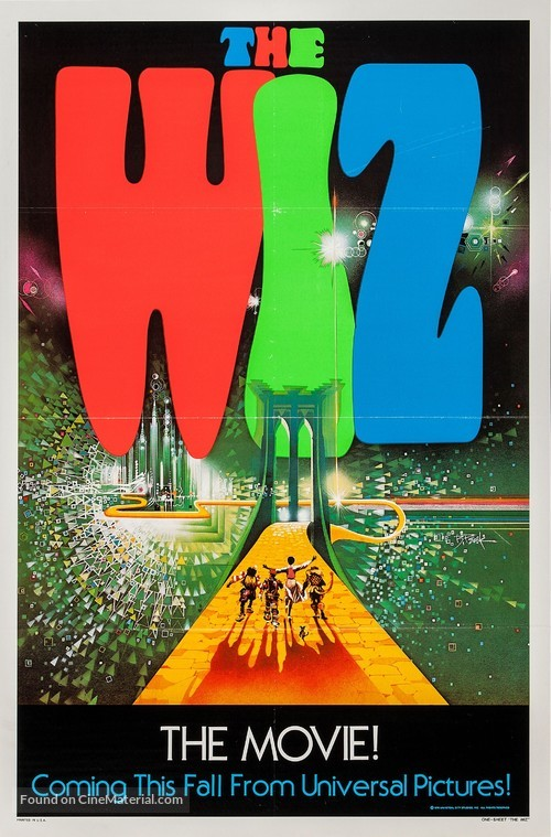 The Wiz - Advance movie poster