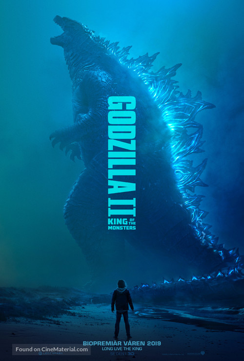 Godzilla: King of the Monsters - Swedish Movie Poster