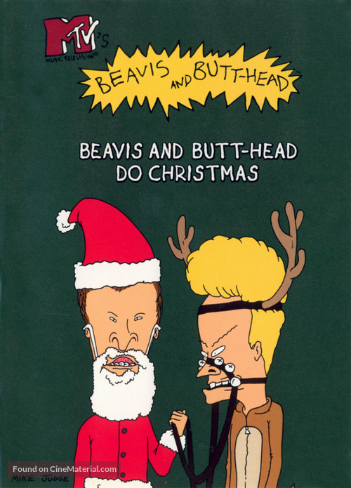 """Beavis and Butt-Head"" - DVD movie cover"