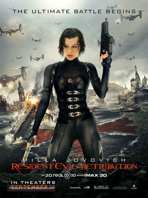 Resident Evil: Retribution - Movie Poster