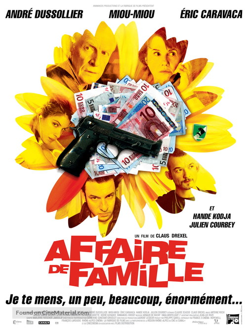 Affaire de famille - French Movie Poster