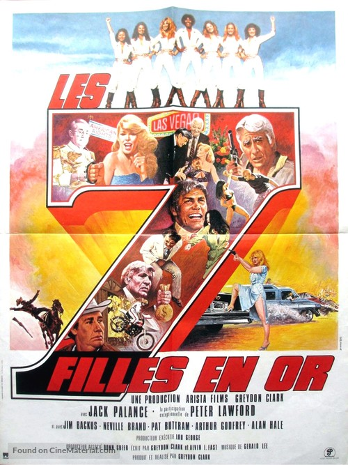 Angels' Brigade - French Movie Poster