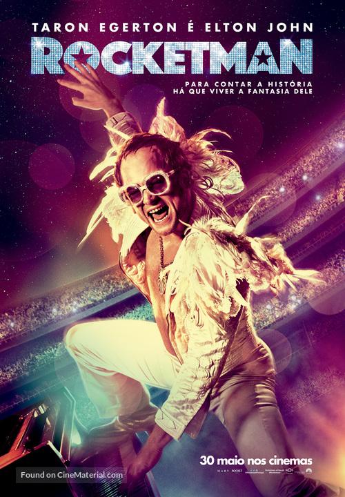 Rocketman - Portuguese Movie Poster