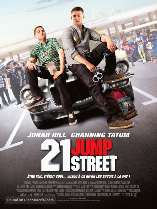 21 Jump Street - French Movie Poster