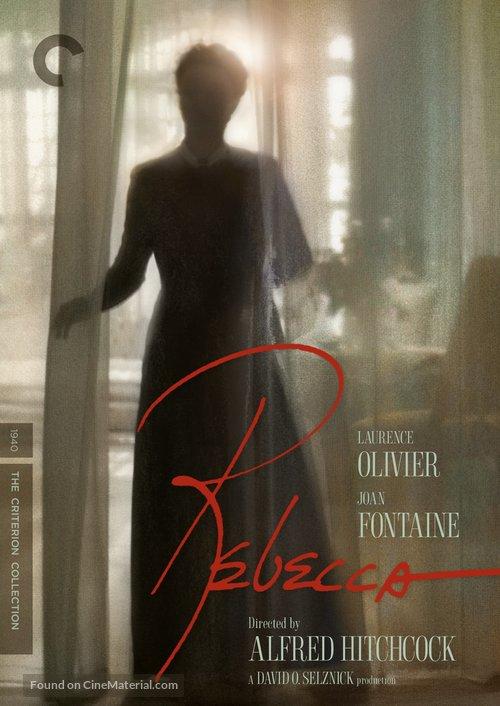Rebecca - DVD movie cover