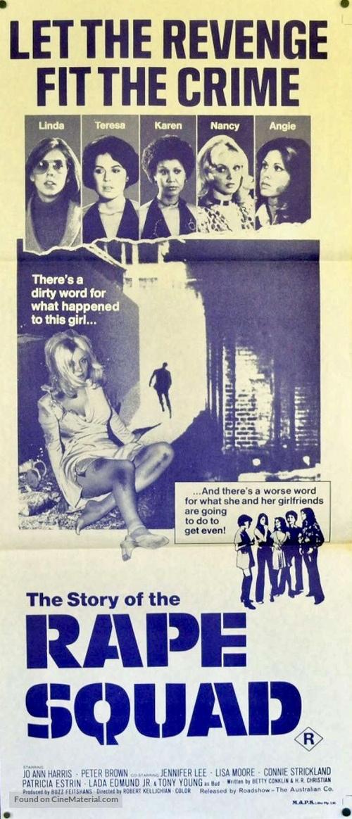 Act of Vengeance - Australian Movie Poster