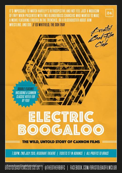 Electric Boogaloo: The Wild, Untold Story of Cannon Films - British Movie Poster