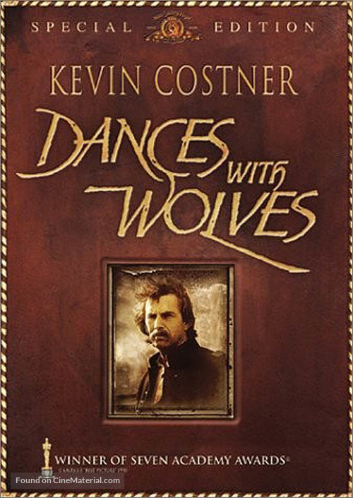Dances with Wolves - DVD movie cover