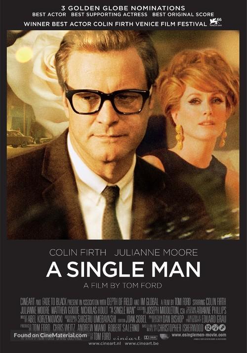 A Single Man - Dutch Movie Poster