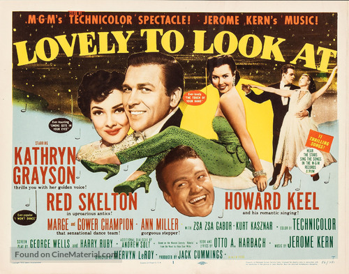 Lovely to Look at - Movie Poster